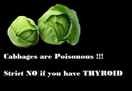 Poisonous cabbages