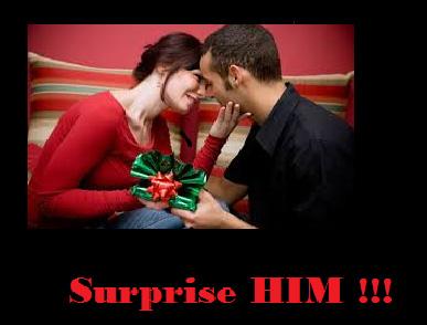 Surprise him