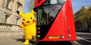 pokeman go bus