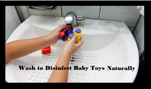 wash-to-disinfect-baby-toys-naturally