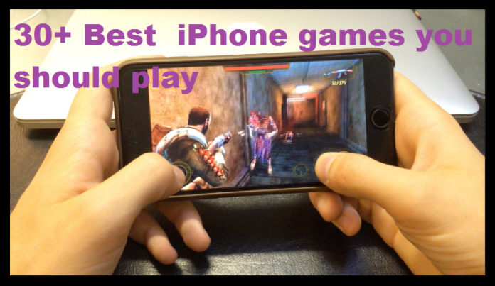 best iphone ganes