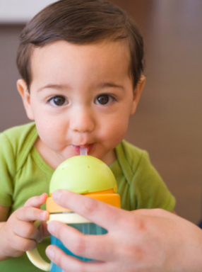 How To Teach Baby To Drink From Sippy Cup