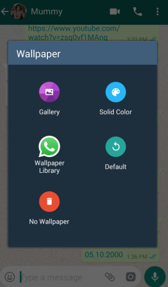 You Can Change Wallpaper On WhatsApp For All Your Chats By Choosing A Of Choice As The Chat BackgroundIf Want To