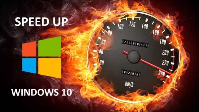 how to run computer faster windows 10