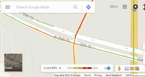 Google Traffic : How to check traffic to work or home on