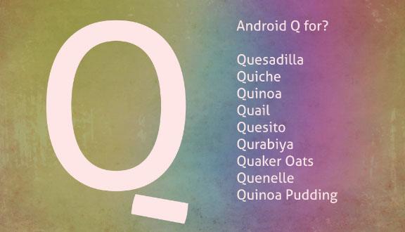 Hasil gambar untuk android q name