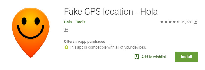 Mock location app for Android & iPhone to fake location