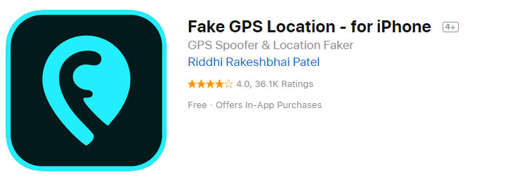 how to use fake gps location app iphone